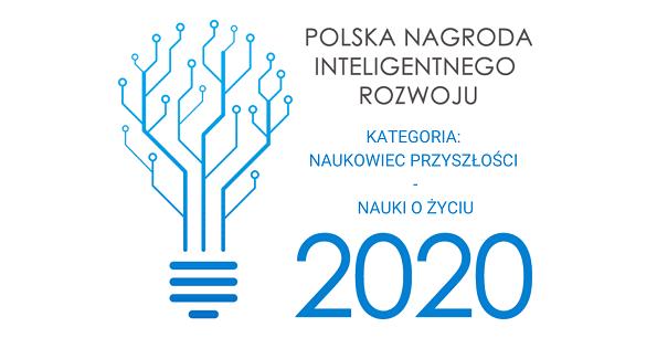 LAUREACI PNIR 2020: Naukowcy przyszłości reprezentujący badania podstawowe z grupy nauk o życiu. Gratulujemy!